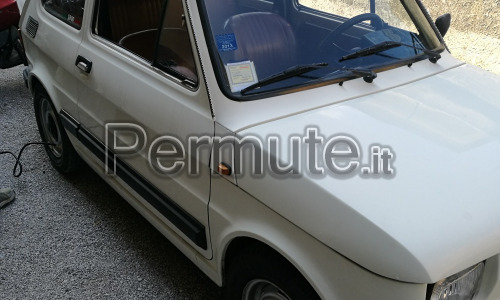 Fiat 126 gp giannini originale