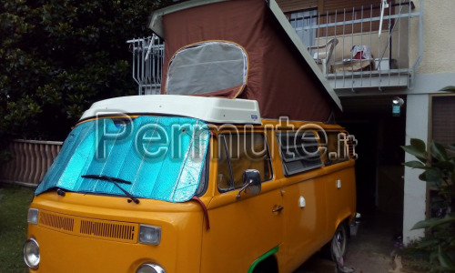 Westfalia T2 Berlin made Germani 1976 storico e originale 100%
