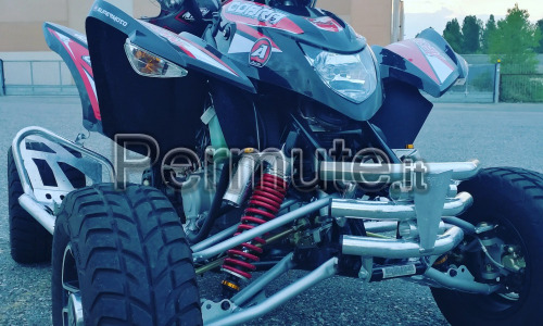 Vendo o scambio quad cobra 400 supermoto