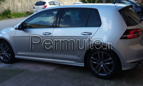 vendo golf 7 Rline o valuto scambio