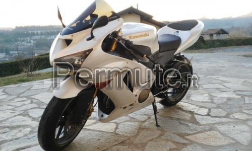 "Ninja ZX636R Limited Edition 2006 ""Pearl White"""