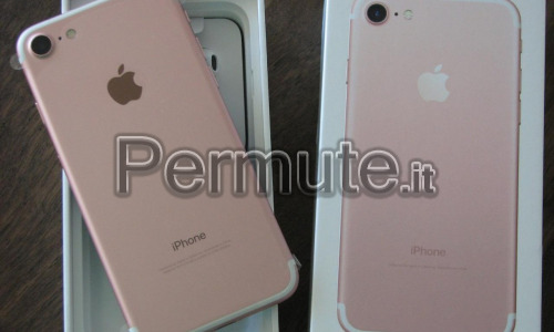 Scambio Iphone 7 Rose/Gold 32GB In Garanzia