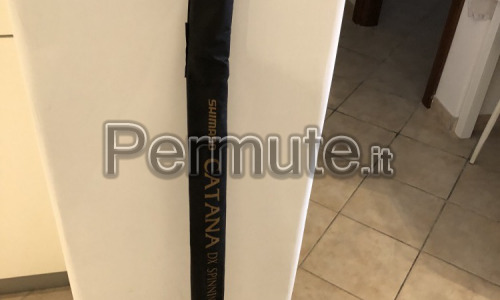 Canna shimano Catana + mulinello shimano Catana fc4000 + esche artificiali