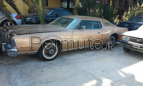 Ford Lincoln Mark IV anno 1974