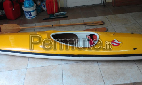Canoa 4,2 Mt per PC portatile