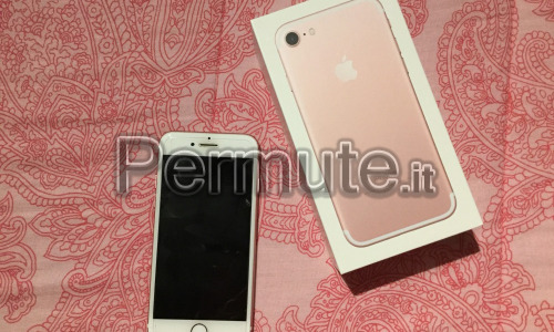 Iphone 7 Gold Rose 32 Gb