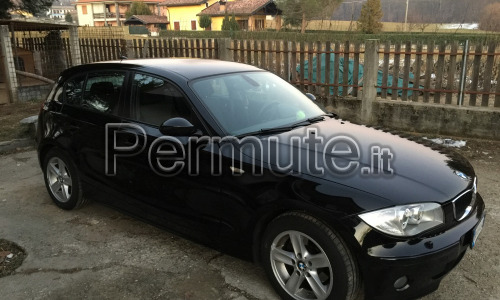 Scambio bmw serie 1 120d e87 per un pick-up