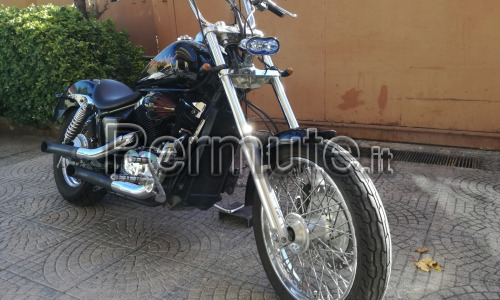 Premuto Honda black Window 750 del 2002