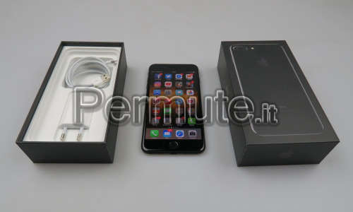 iphone 7 plus Jet Black da 128 giga