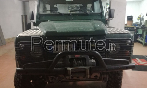 Defender 90 pick up td5 preparato