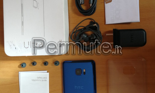 Htc u ultra 4/64gb android 8 scambio