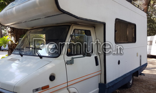 Camper Mansardato CI internationa 5.60 su Ducato 2.5 asp
