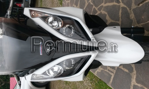 scambio kymco downtown 300 fine 2011