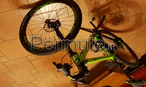 Scambio MTB cannodale trigger carbonio Team 2016 con MTB cannondale scalpel si Team 29