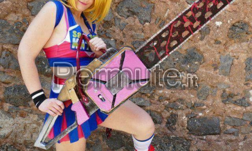 Cosplay Completo Lollipop Chainsaw dal valore di 250 euro