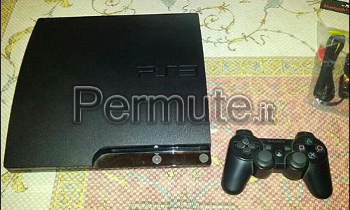 PlayStation 3 Slim 160GB+Giochi