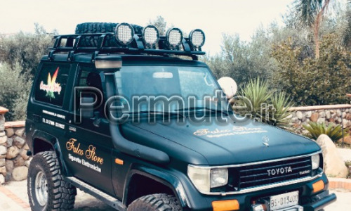 FUORISTRADA 4x4 OFF ROAD TOYOTA LAND CRUISER CINESINO