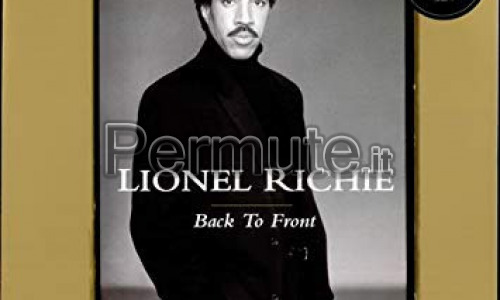 Lp Lionel Richie Back to Front