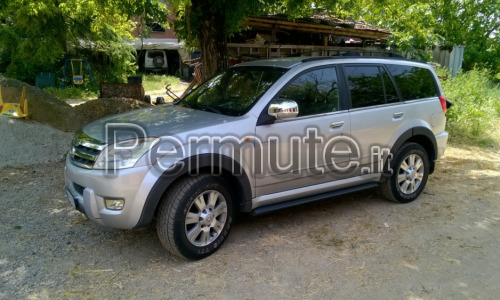 SUV great wall hover 5 a metano permuto con auto metano