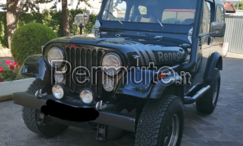jeep cj7 asi vettura