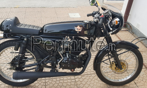 Skyteam ACE DARK 125 replica Honda ACE del 1970