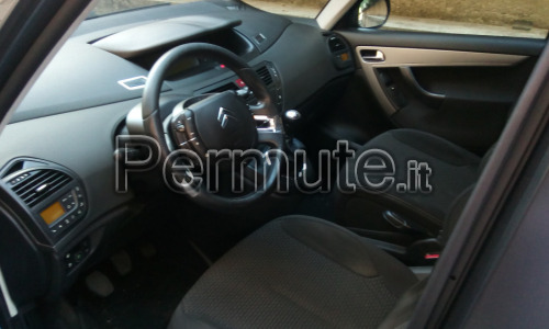 Citroen c4 grand Picasso metano