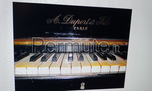 Pianoforte Paris Duport fine 800