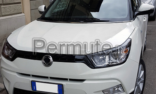 Scambio SsangYong Tivoli diesel