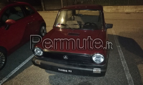 Autobianchi a112 junior 1985