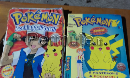 POKEMON - album + rivista