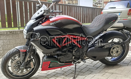 Ciavel carbon Red 2012 permuto con Harley bagger