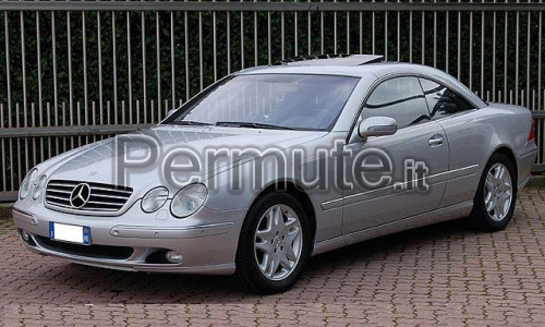 Mercedes CL 500 del 17-12-2003 km 90.000 originali