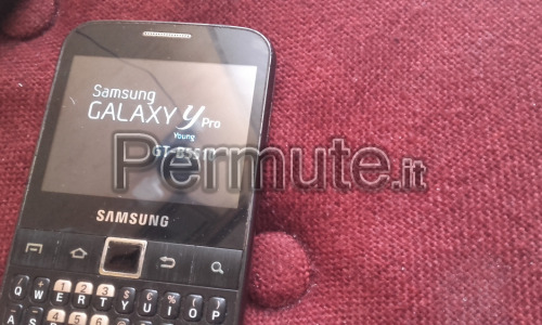 SAMSUNG GALAXY Y PRO YOUNG GT B5510 BLACK