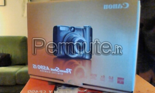 Fotocamera elettronica Canon PowerShot A590IS