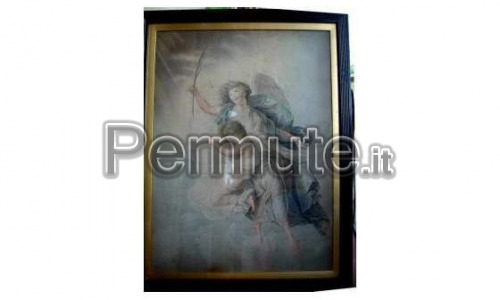 Bartolozzi – Peters THE SPIRIT OF A CHILD.... 1787 Incisione original