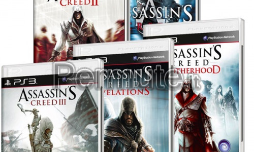 Scambio Assasin's Creed 1-2-3 e 2 est.