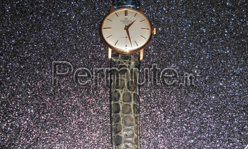 orologio audixwatch geneve 17 rubini anni 50 in oro 18 kt ultrasottile