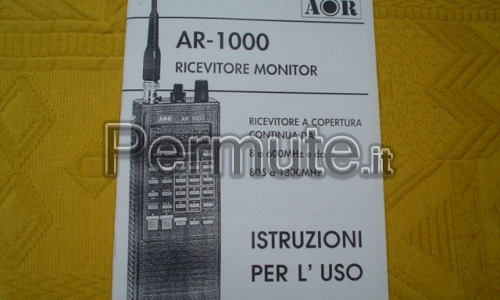 SCANNER RICEVITORE MONITOR AR-1000