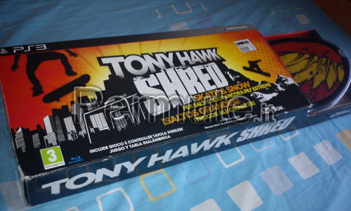 shred tony hawk Skate ps3