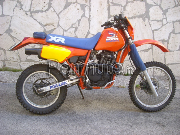 rarissima honda xr 600 r 1985 latina usato in permuta. Black Bedroom Furniture Sets. Home Design Ideas
