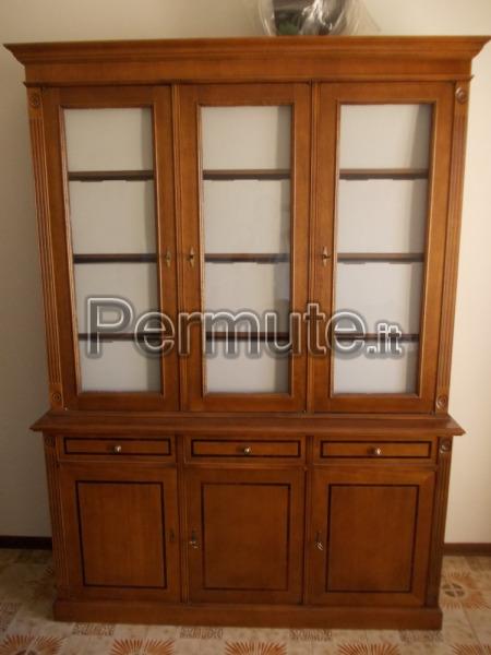 studio = libreria + scrivania + 3 sedie Frosinone Usato in Permuta ...